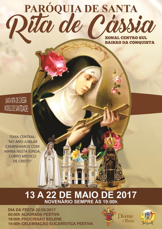 Festa em Louvor a Santa Rita de Cássia 2017 – Portal Católico